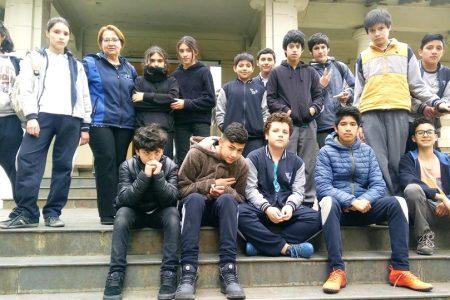 Alumnos visitan Centros Culturales Temuco