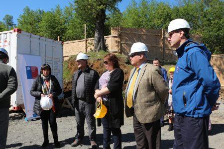 Construcción de nuevo jardín infantil en Pucón